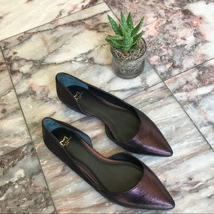 Marc Fisher Shoes - Marc Fisher Sunny D'Orsay Violet flats